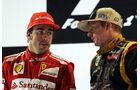 Räikkönen & Alonso GP Abu Dhabi 2012