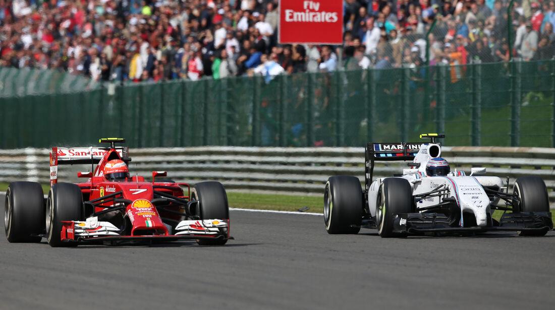 Räikkönen & Bottas - GP Belgien 2014
