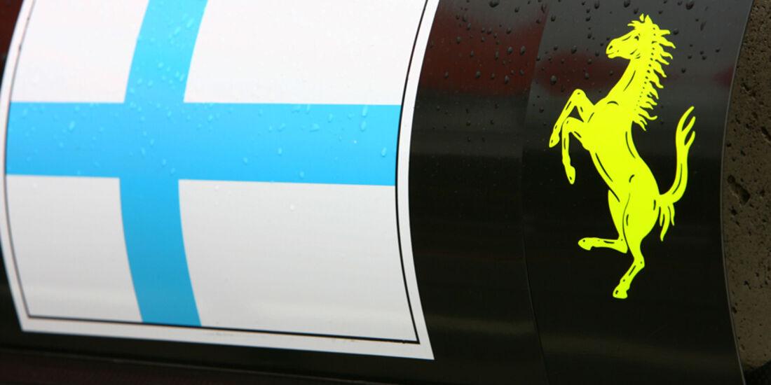 Räikkönen Ferrari 2007