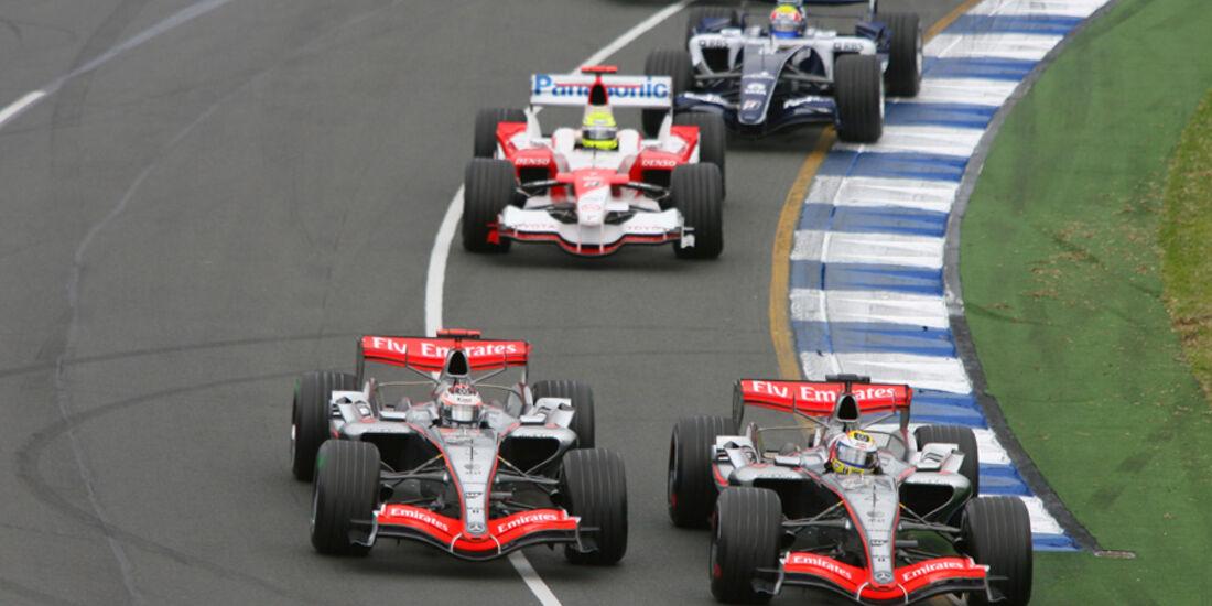 Räikkönen & Montoya