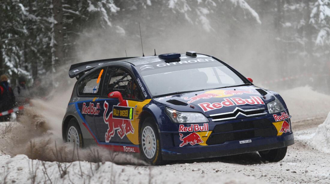 Räikkönen Rallye Schweden 2010