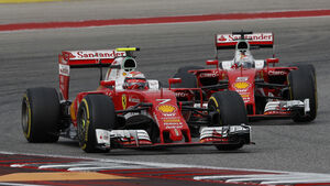 Räikkönen & Vettel - GP USA 2016