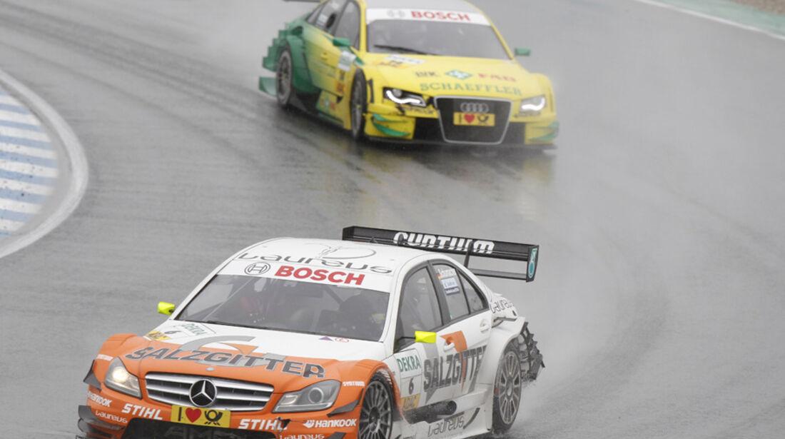 Ralf Schumacher DTM Oschersleben 2011