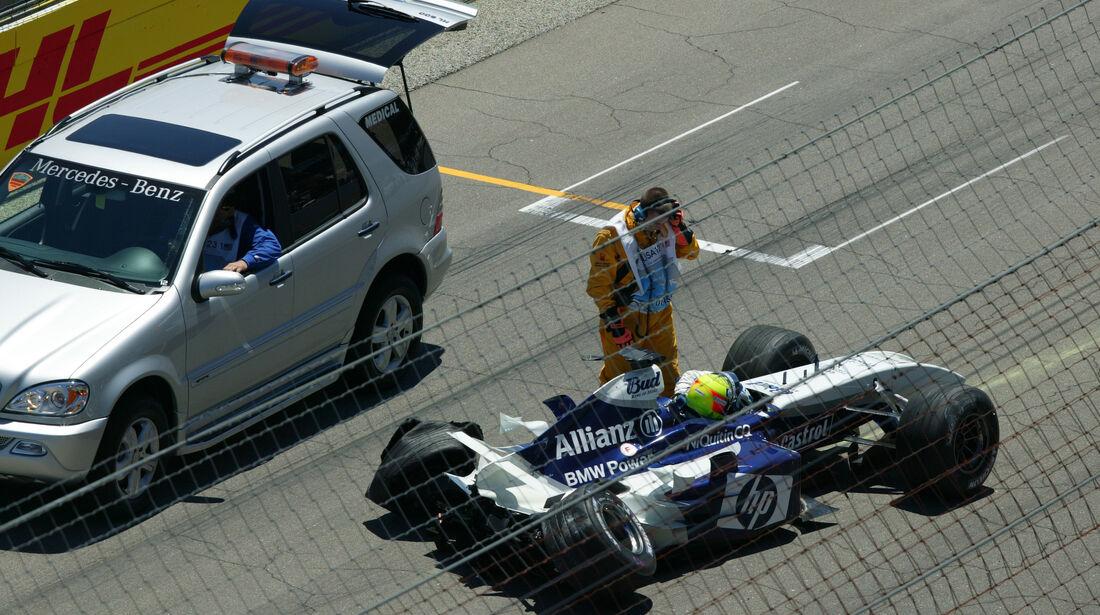 Ralf Schumacher - GP USA 2004