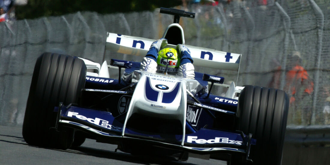 Ralf Schumacher Williams 2004