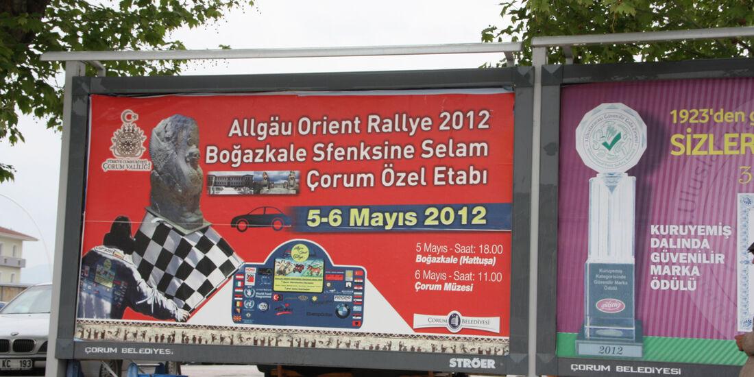 Rallye Allgäu-Orient, Plakat, Türkei