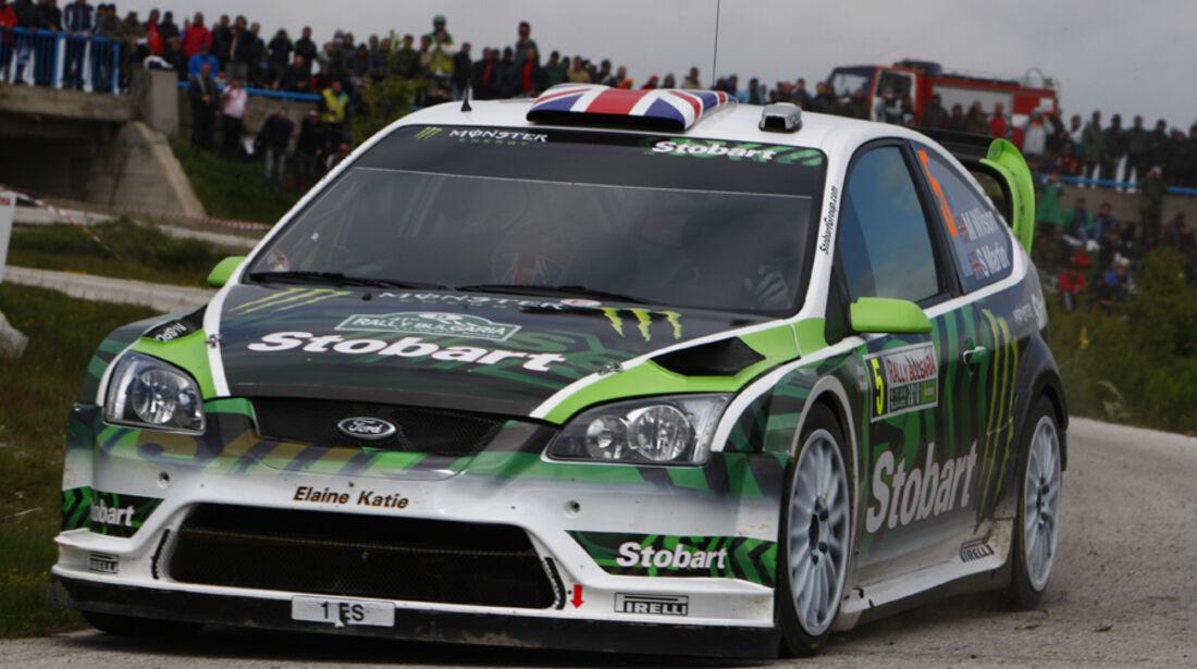 Rallye Bulgarien 2010 Wilson Stobart