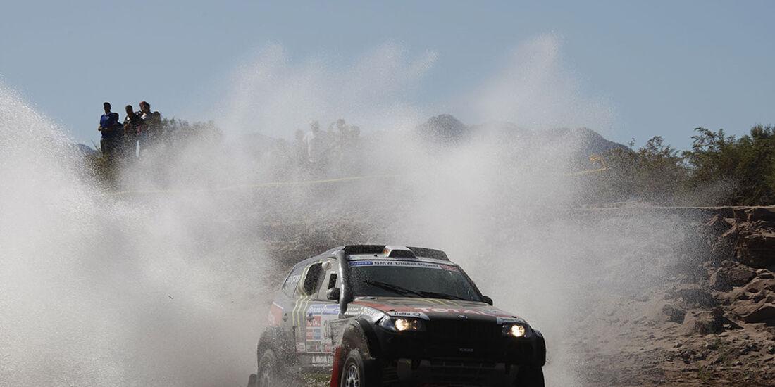 Rallye Dakar 2011, Stéphane Peterhansel, X-raid BMW X3