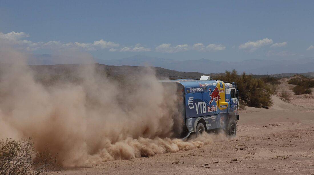 Rallye Dakar 2011, Truck, LKW