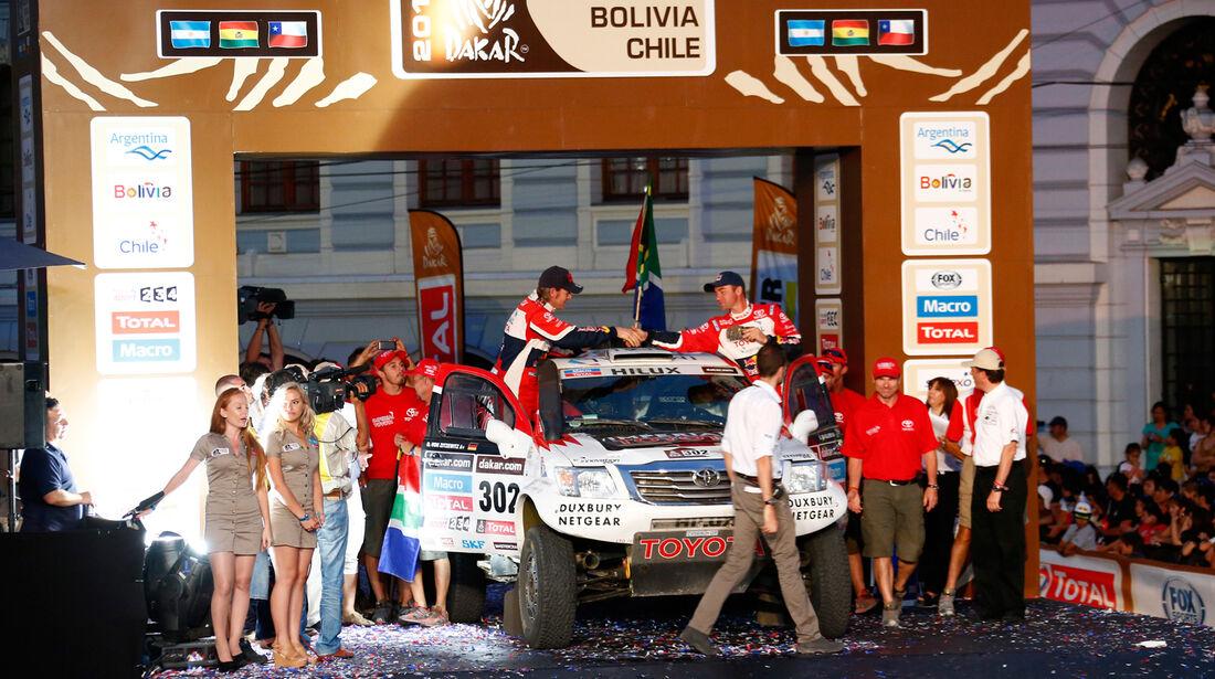 Rallye Dakar 2014 - Giniel de Villiers