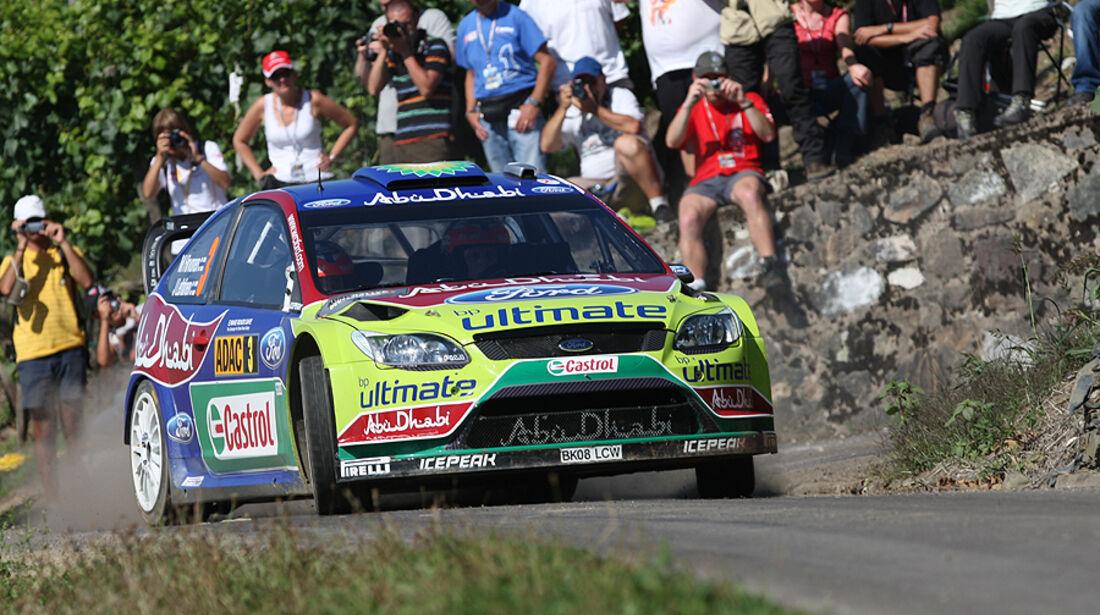 Rallye Deutschland 2010, Ford Focus RS WRC, Hirvonen