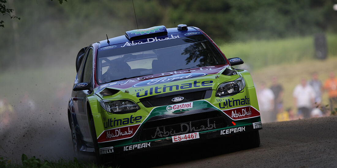 Rallye Finnland 2010, Hirvonen, Ford Focus WRC