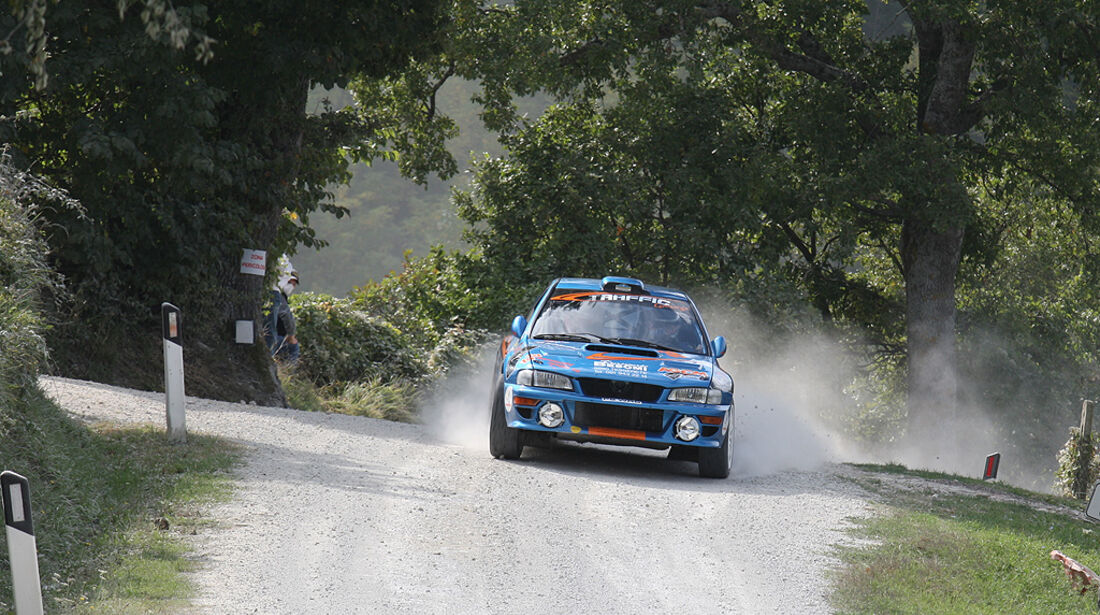 Rallye Legends, San Marino, Subaru Impreza WRC
