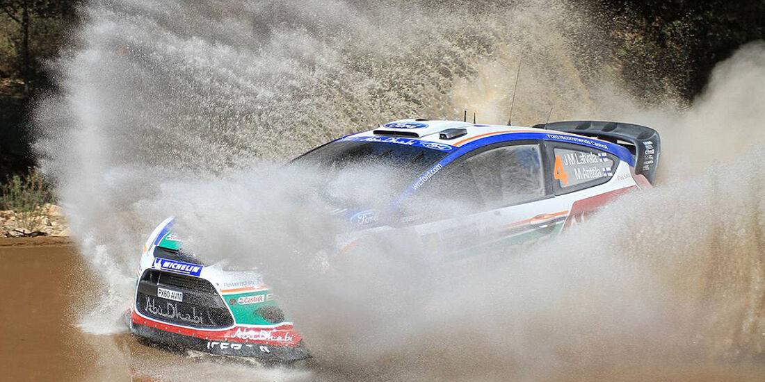 Rallye Mexiko 2011, Latvala, Ford Fiesta WRC