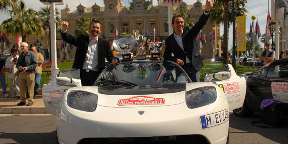 Rallye Monte Carlo alternative Antriebe, 2010, Tesla
