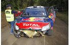 Rallye Neuseeland 2010, WRC, Citroen C4 WRC, Ogier, Unfall