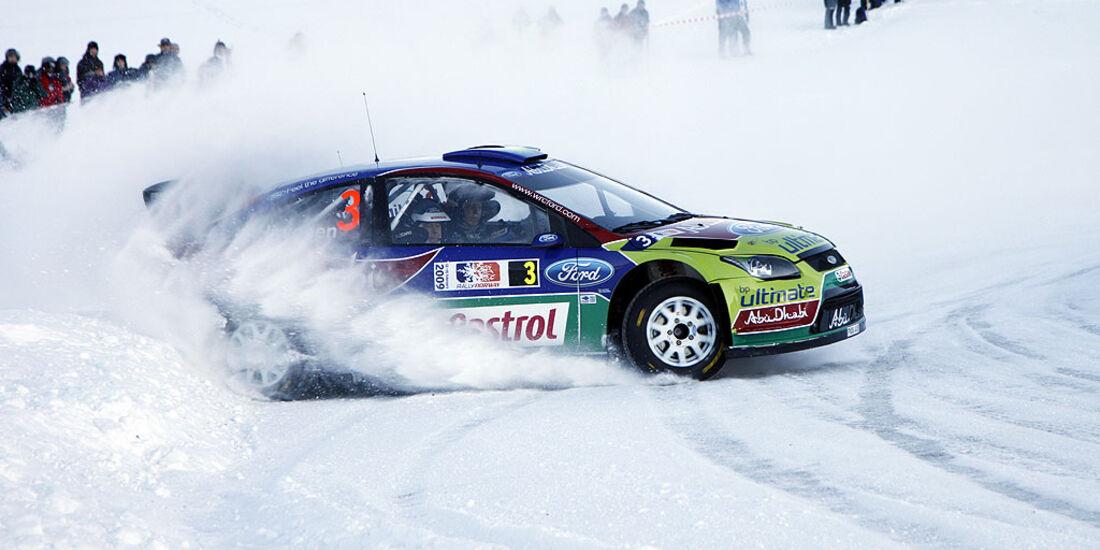 Rallye Norwegen 2009