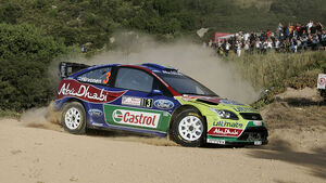 Rallye Sardinien 2009, Tag 1, Mikko Hirvonen, Ford Focus WRC