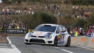 Rallye Spanien, Latvala, VW Polo