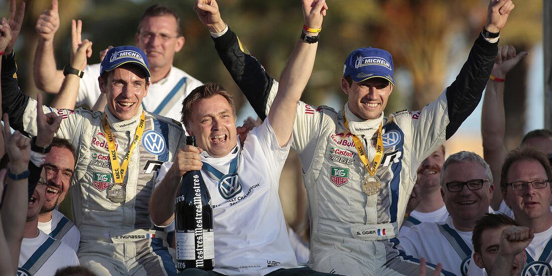 Rallye Spanien, Tag 3, VW, Jubel
