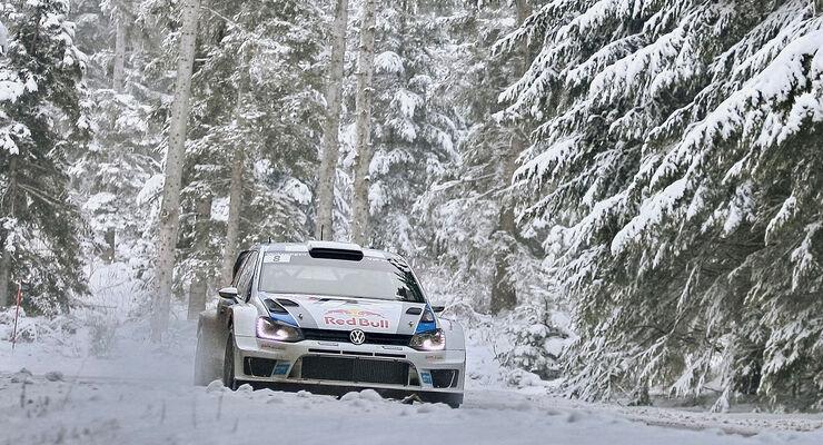 Rallye WM 2013 Schweden VW Polo WRC