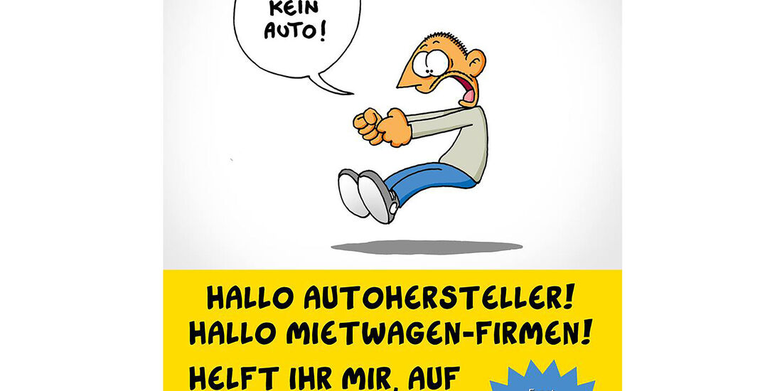 Ralph Ruthe Facebook post suche ein Auto