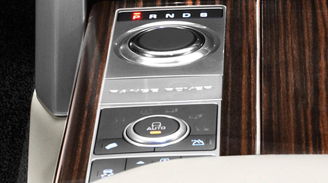Range Rover 2012, Innenraum, Schaltung