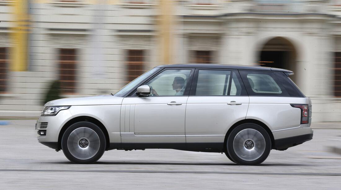 Range Rover 5.0 V8 SC, Seitenansicht