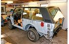 Range Rover, Aufbau