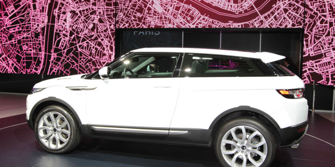 Range Rover Evogue Paris 2010