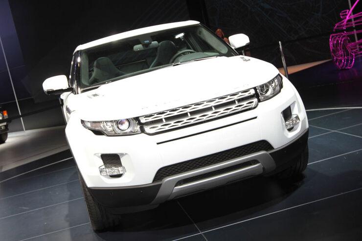 Range Rover Evogue Paris 2010