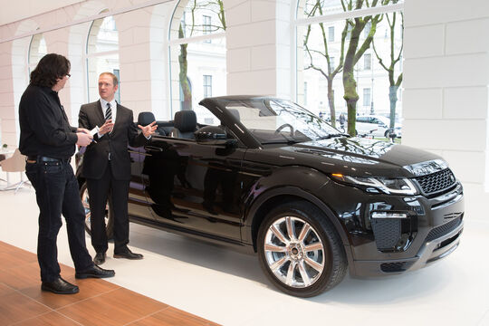 Range Rover Evoque Cabrio, Design, Phil Simmons