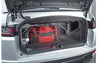 Range Rover Evoque Cabrio, Kofferraum
