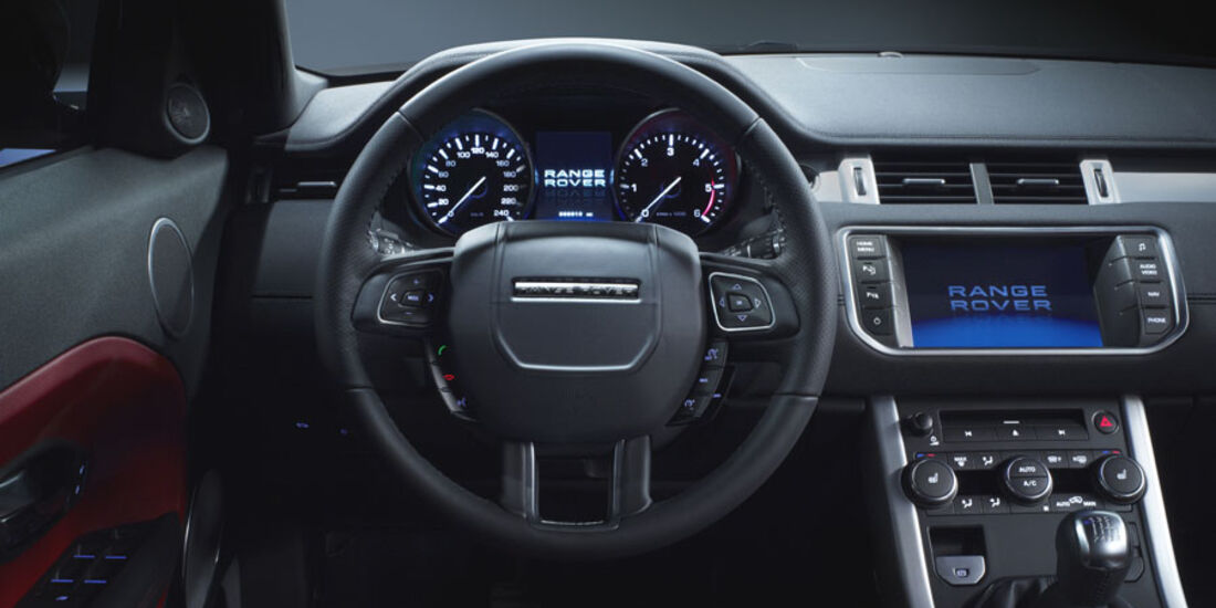 Range Rover Evoque Fünftürer, Cockpit, Innenraum