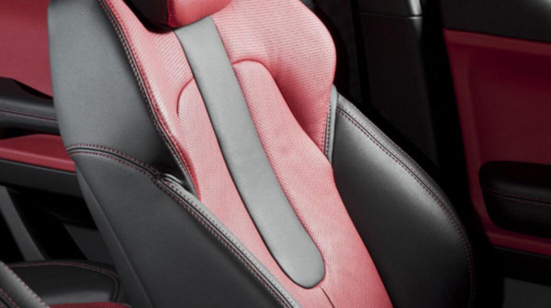 Range Rover Evoque Fünftürer, Innenraum, Sitze