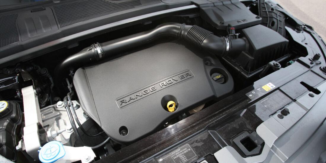 Range Rover Evoque TD4 Pure, Motor
