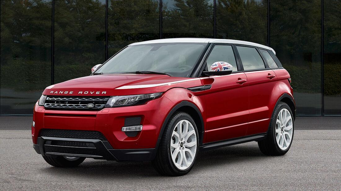 Range Rover Evoque Union Sondermodell