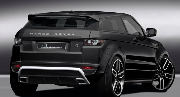 b b range rover evoque bis zu 300 ps f r den brit suv auto motor und sport. Black Bedroom Furniture Sets. Home Design Ideas