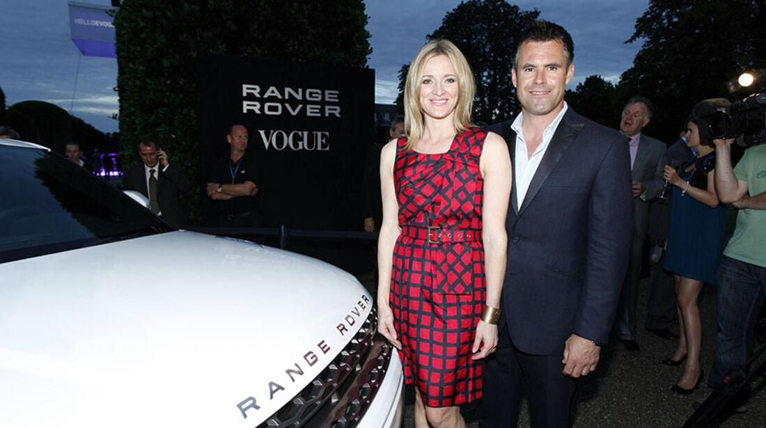 Range Rover Evoque und Promis