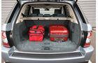 Range Rover Sport, Kofferraum