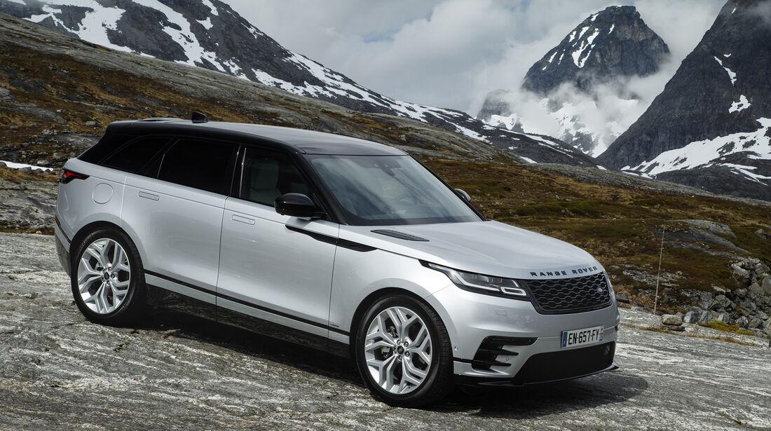 Range Rover Velar, Exterieur