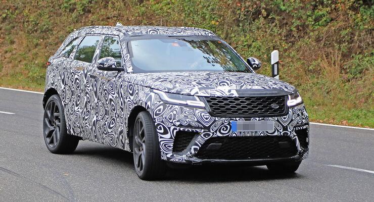 Range Rover Velar SVR Erlkönig