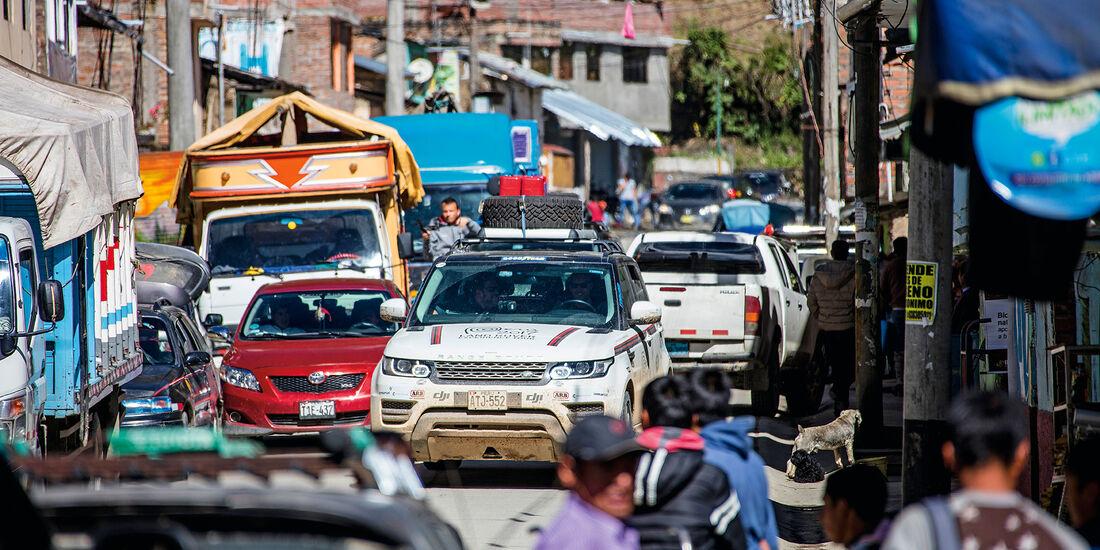 Range Rover in Peru
