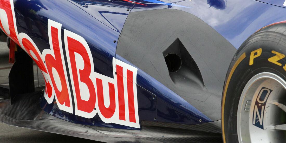 Red Bull Auspuff GP Australien 2012