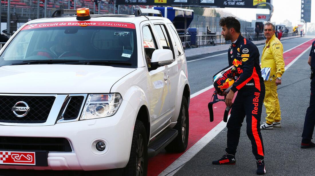Red Bull - F1-Test - Barcelona - 27. Februar 2017