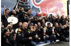 Red Bull Feier Rennen GP Belgien 2011