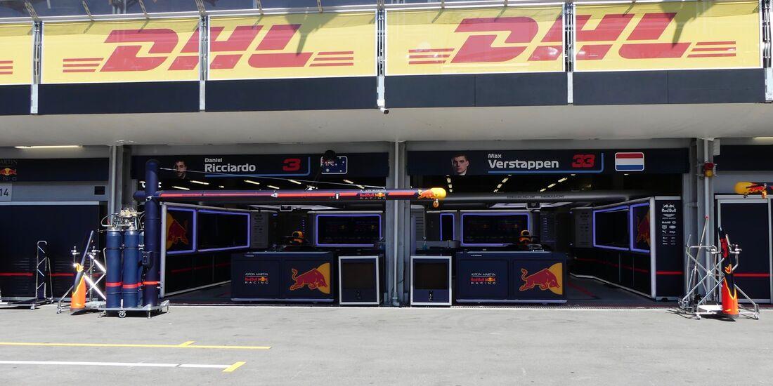 Red Bull - Formel 1 - GP Aserbaidschan - 26. April 2018
