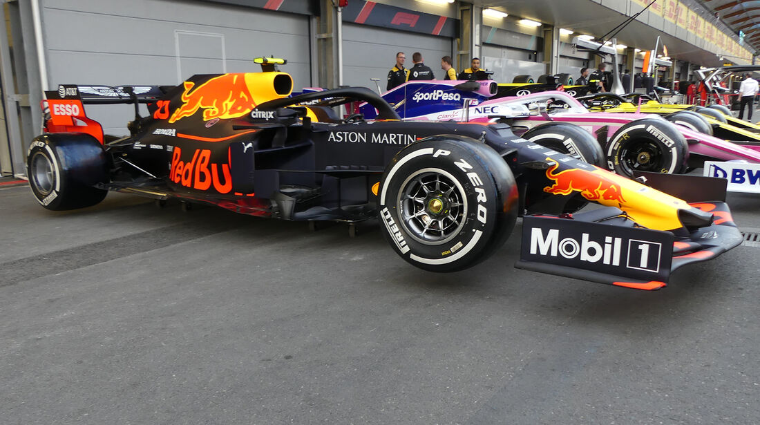 Red Bull - Formel 1 - GP Aserbaidschan - Baku - 25. April 2019