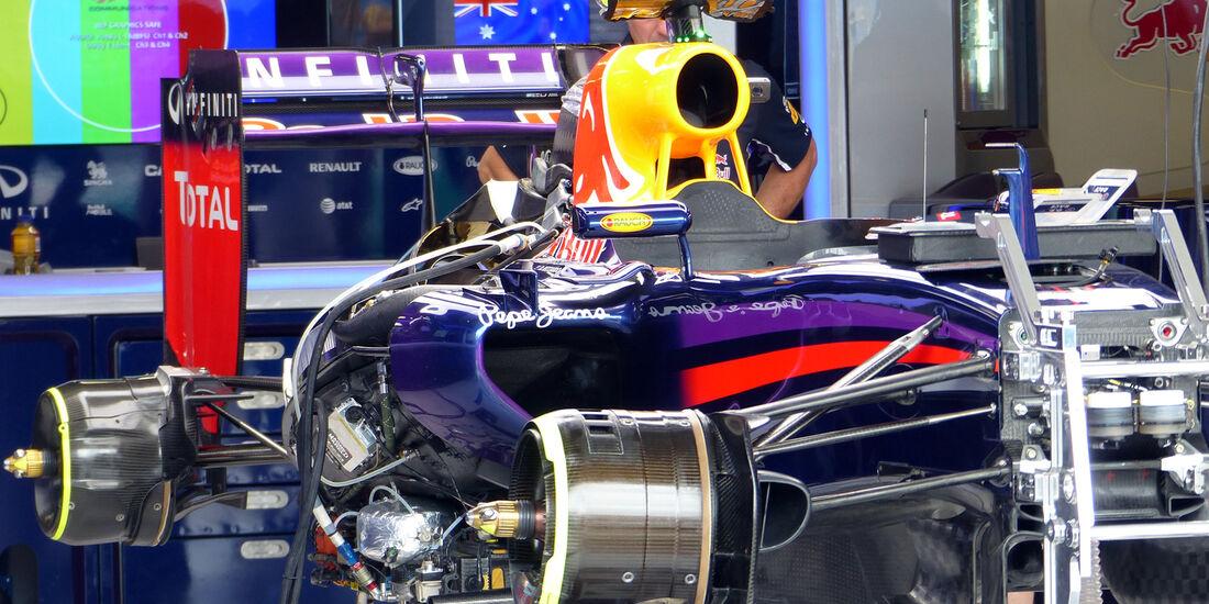 Red Bull  - Formel 1 - GP Australien - 15. März 2014