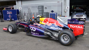 Red Bull - Formel 1 - GP Belgien - Spa-Francorchamps - 20. August 2014